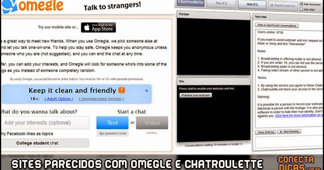 Omegle com official site
