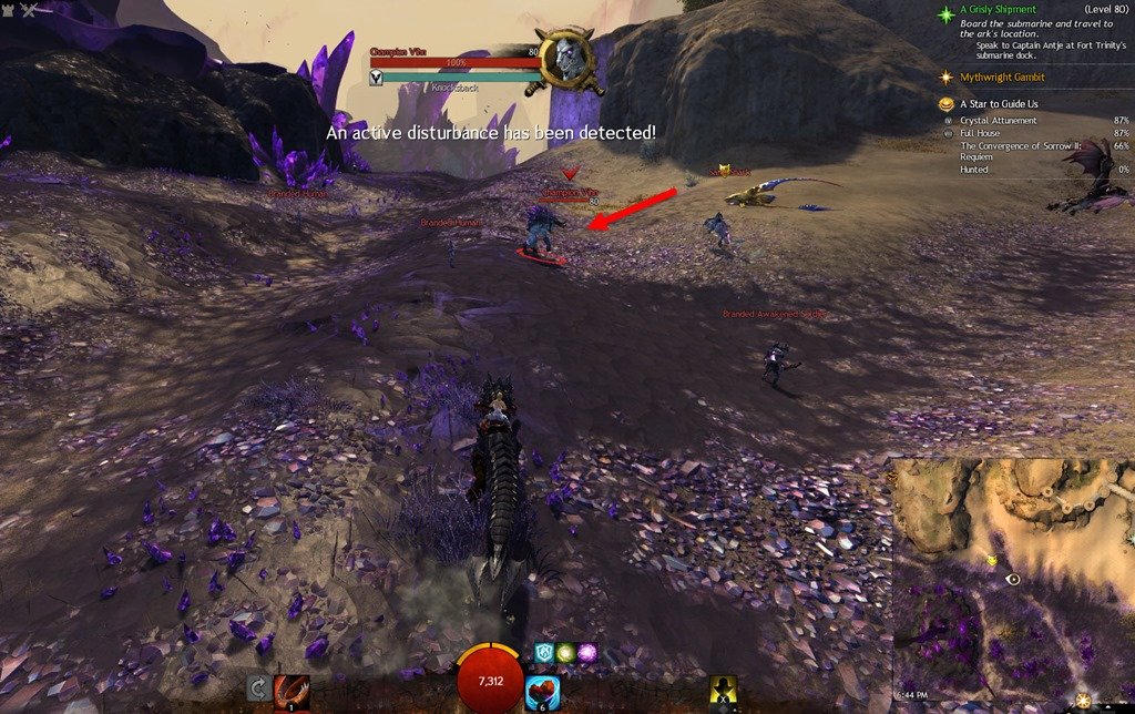 Thai Guild Wars 2 Guide: LWS4:AP A Star To Guide Us (MAP)