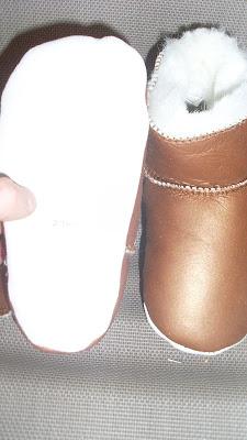 chaussons à semelles souples