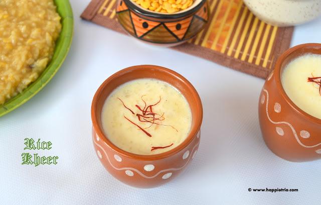Rice Kheer | Chawal Ki Kheer | Arisi Payasam