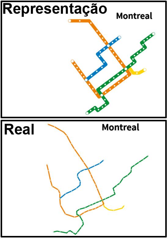 Mapas de Metros do mundo - Montreal