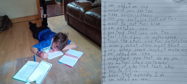 Autistic Boy's Homework Brought His Parents To Tears, Shares What It's Like To Live With Autism