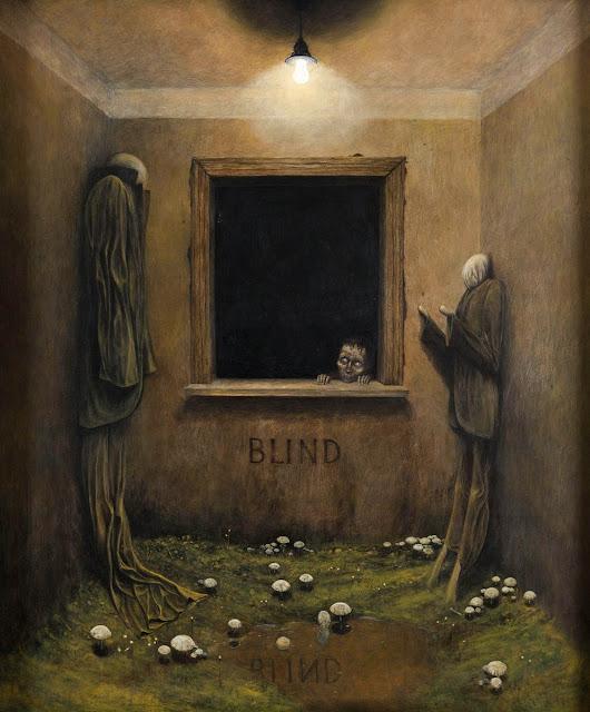 Zdzislaw Beksinski, Arte, Lisergia, Surrealismo