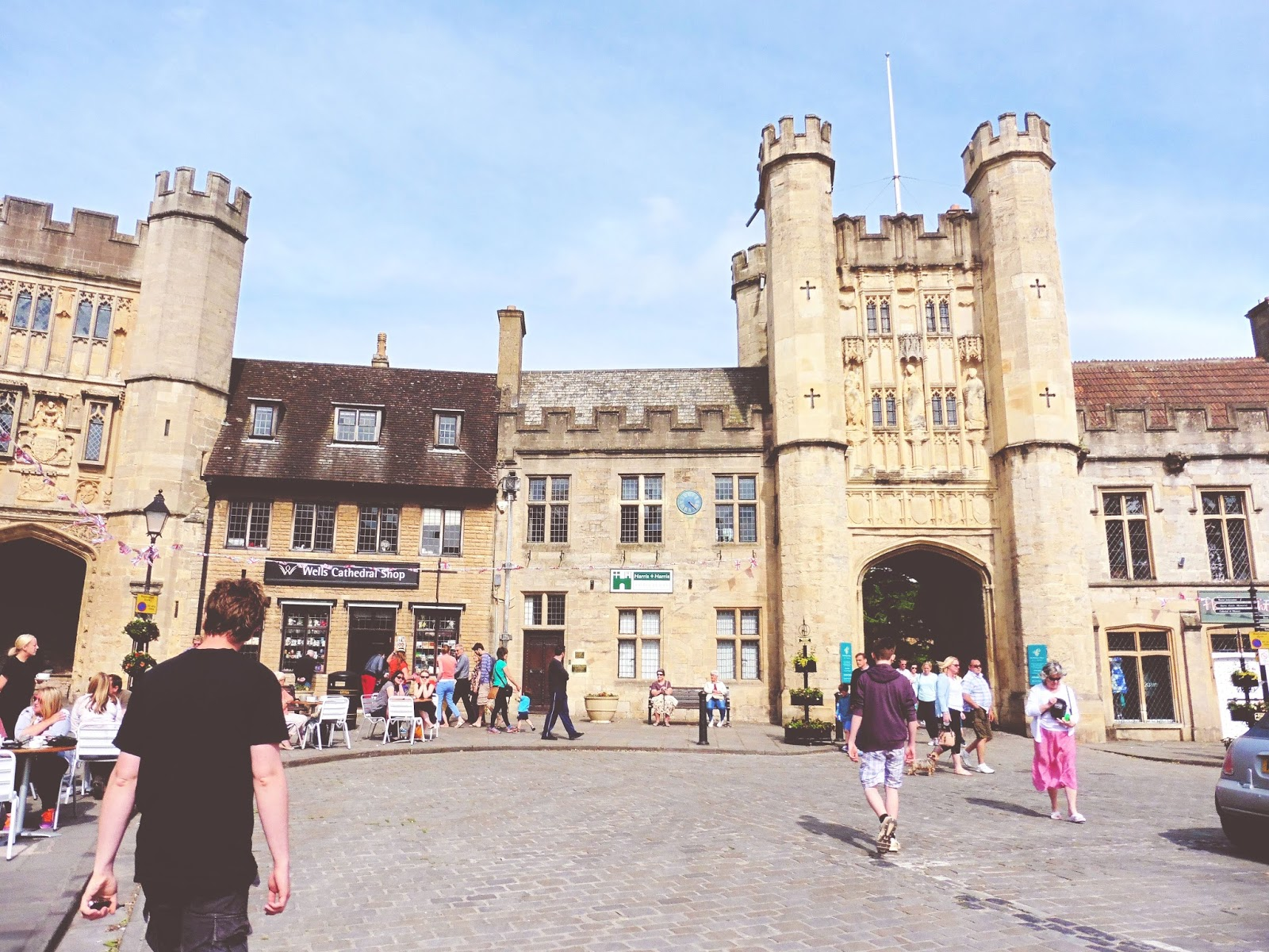 lebellelavie - A visit to Wells and Wells Cathedral