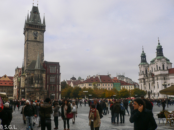 Torre ayuntamiento Praga. Reloj astronomico