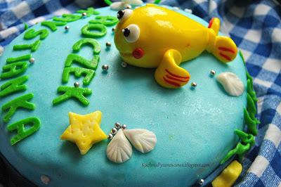 Tort z rybką Mini Mini
