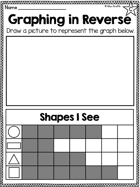 miss giraffe u0026 39 s class  graphing and data analysis in first