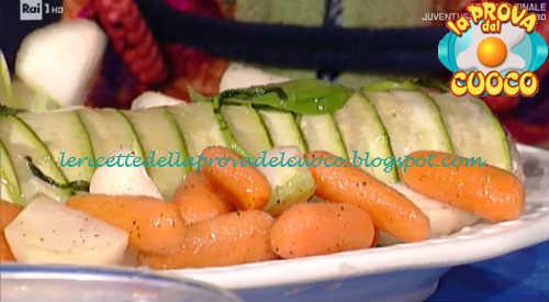 Prova del cuoco - Ingredienti e procedimento della ricetta Polpettone freddo in crosta di zucchine di Luisanna Messeri