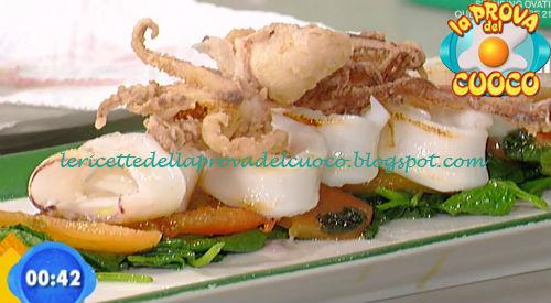 Tagliata di calamaro ricetta Scarpa da Prova del Cuoco