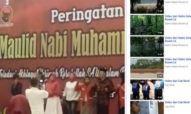 PDIP Peringati Maulid Nabi Disisipi Dangdutan, Netizen Protes