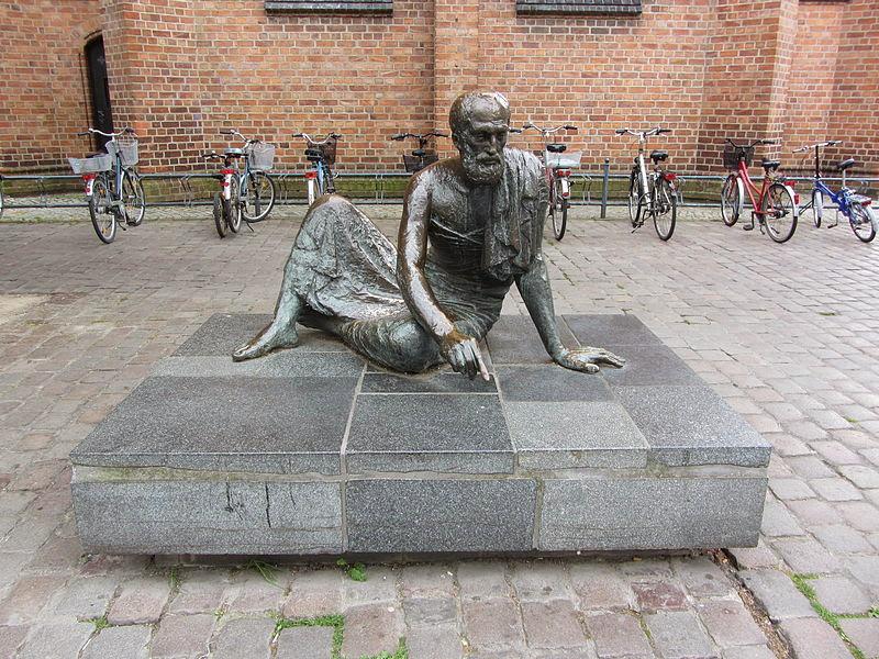 Escultura de Arquímedes en Güstrow