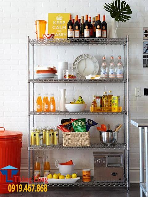Giá để đồ nhà bếp inox đa năng