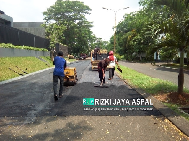 Rizki Jaya Aspal, Jasa Aspal Hotmix, Jasa perbaikan jalan, jakarta, bogor,depok, bekasi, tangerang, dan sekitarnya