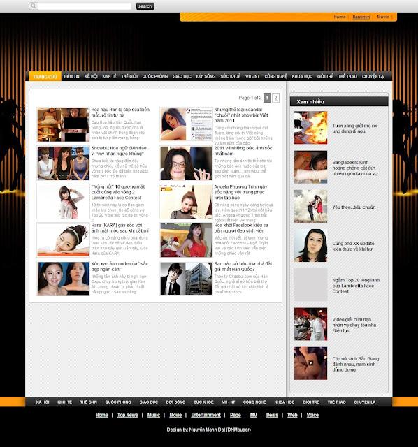 trang Label cho blogspot dep nhat
