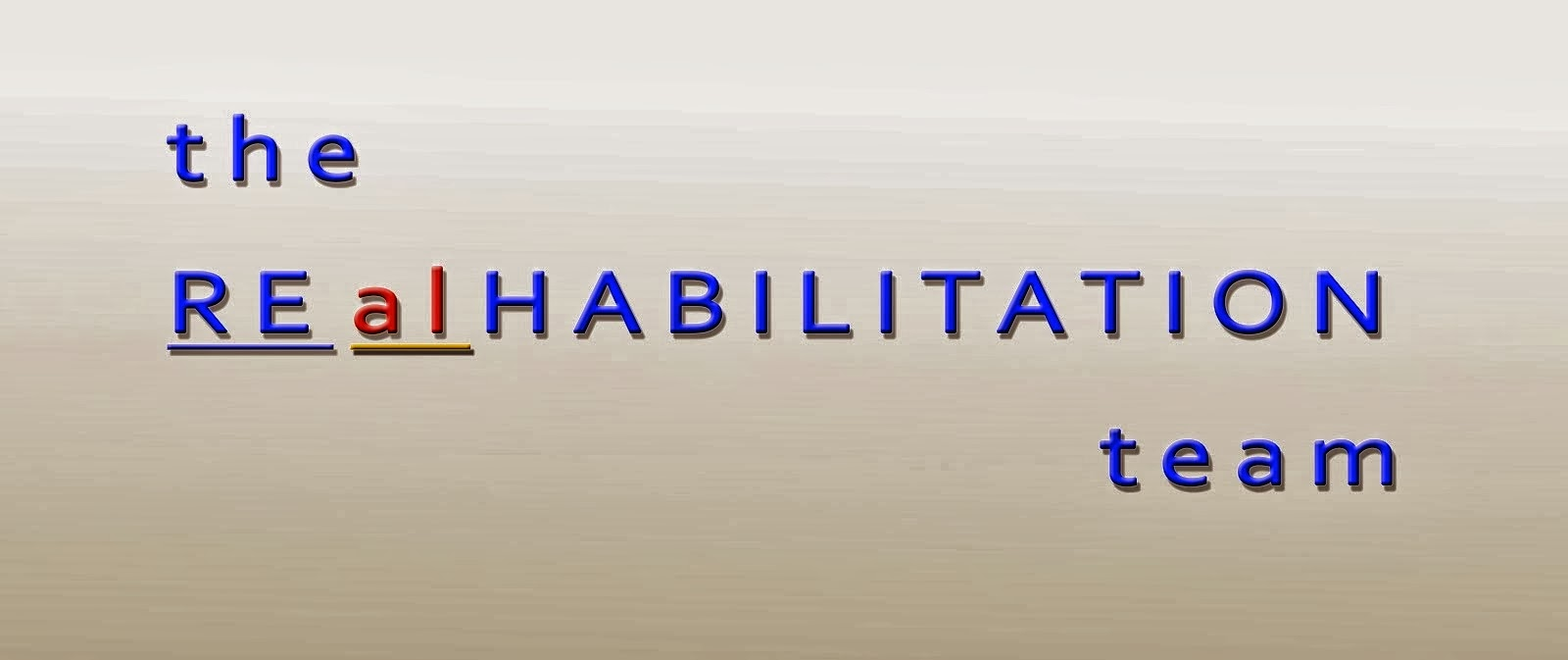 the REalHABILITATION team