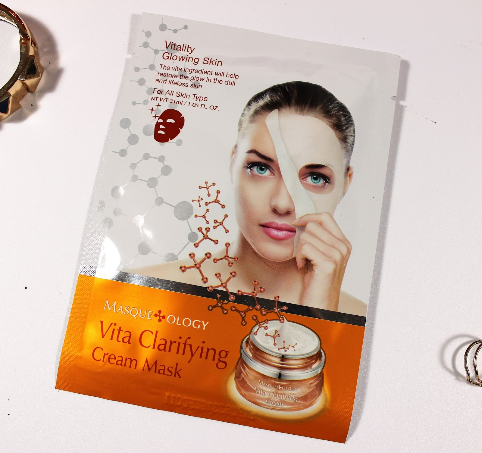 Vita Clarifying Cream Mask Review
