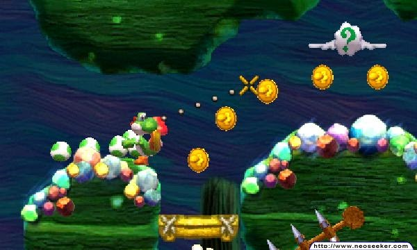 3DS Yoshi's New Island Screenshot