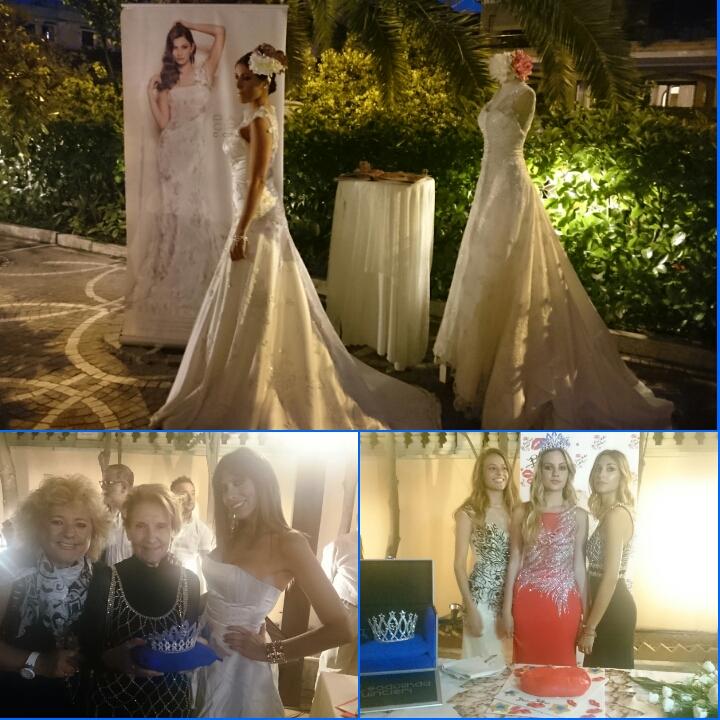 Finale con abiti da Sposa della Stilista Paola Cipriani Couture. Valeria  Marini dopo questa serata ha annunciato che sarà in giro per l Italia in  varie ... 9cf91546dbb