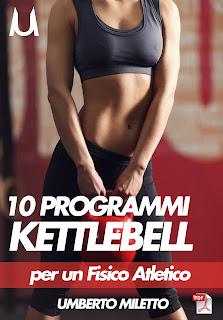 10 schede allenamento donna kettlebell