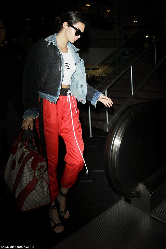 Parachute Pants Worn by Kendall Jenner