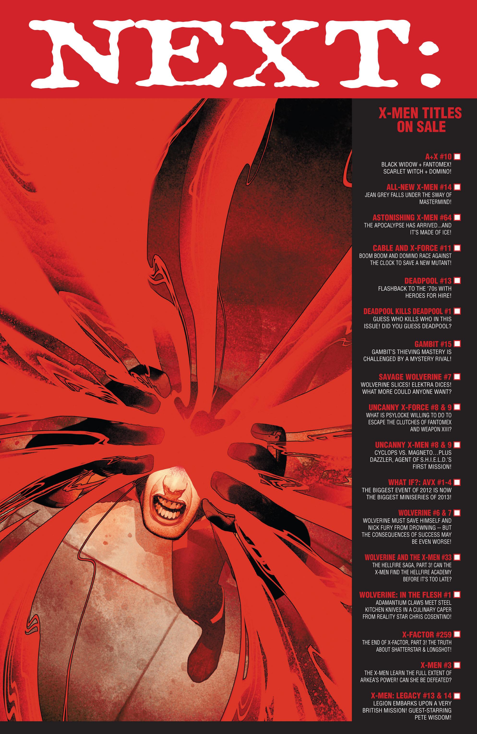 Read online Uncanny X-Men (2013) comic -  Issue #9 - 19