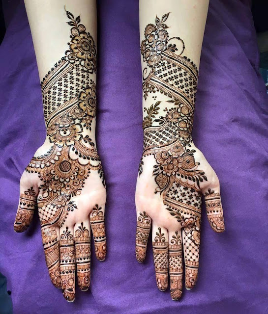 Bridal Mehandi Designs for Hands 7