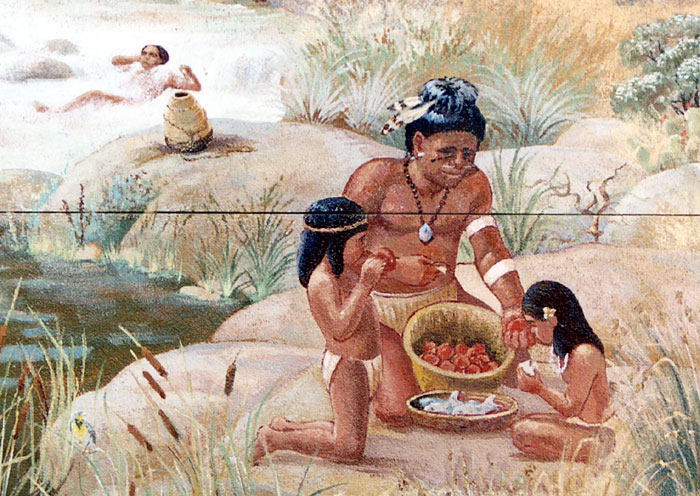 American Indians History And Photographs Chumash Indians On Santa