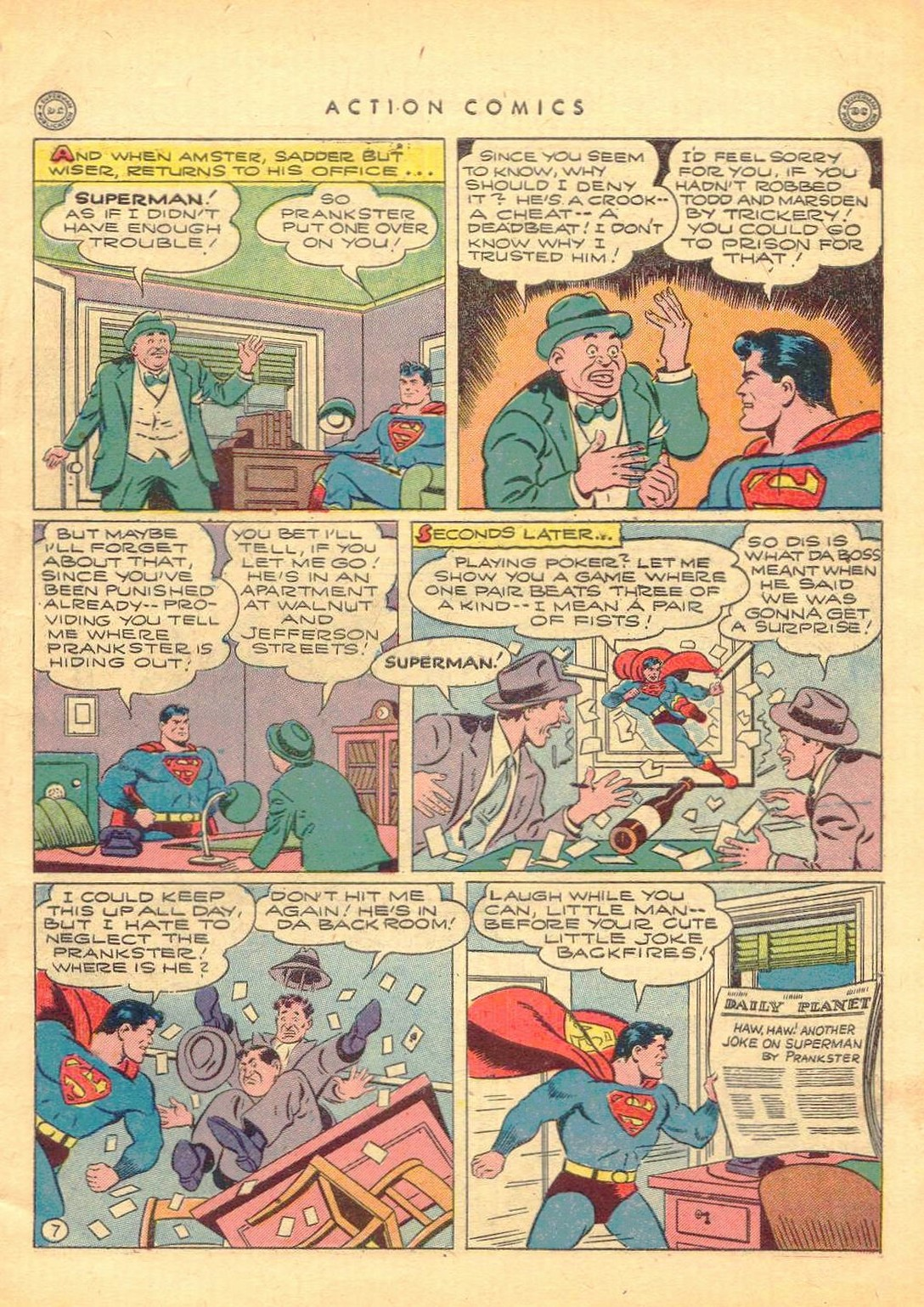 Read online Action Comics (1938) comic -  Issue #77 - 8