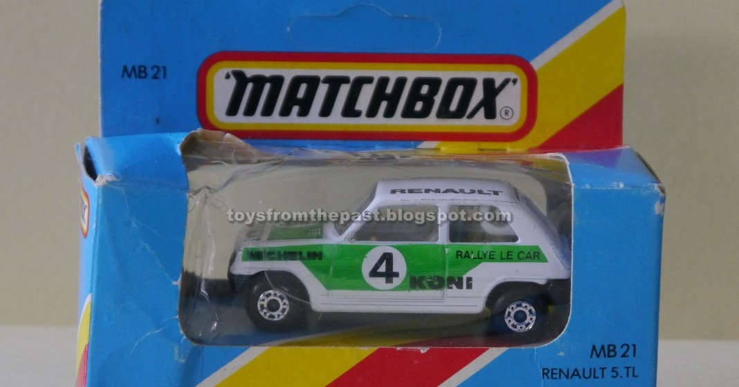 Toys From The Past 789 Matchbox Renault 5 Tl Ford Model A And