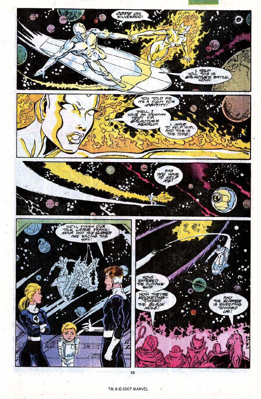 Read online Silver Surfer (1987) comic -  Issue #18 - 25