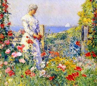 Frederick Childe Hassam_In the Garden
