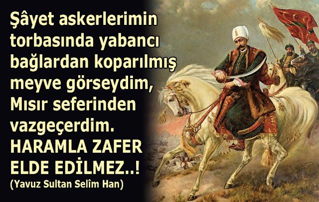 Yavuz Sultan Selim, padişah, hükümdar, at, ordu, üç hilal, sancak, savaş,