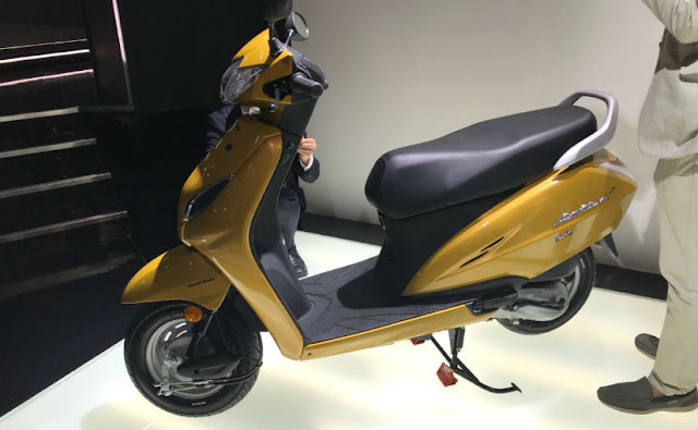 New upcoming 2018 Honda Activa 5G hd picture