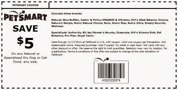 Petsmart Printable Coupons November 2015 - Coupons ...