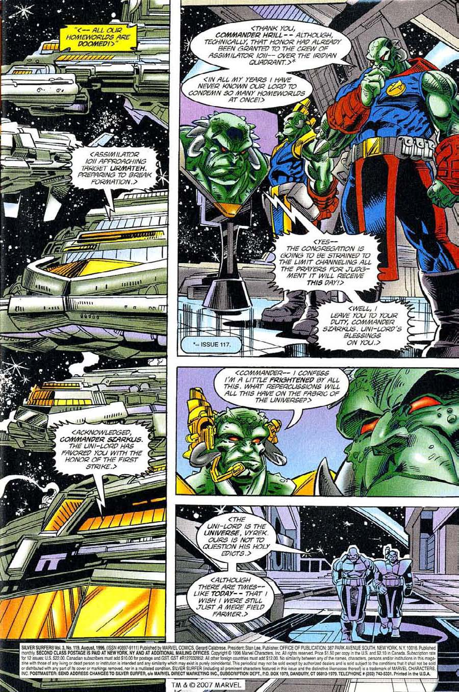 Read online Silver Surfer (1987) comic -  Issue #119 - 5