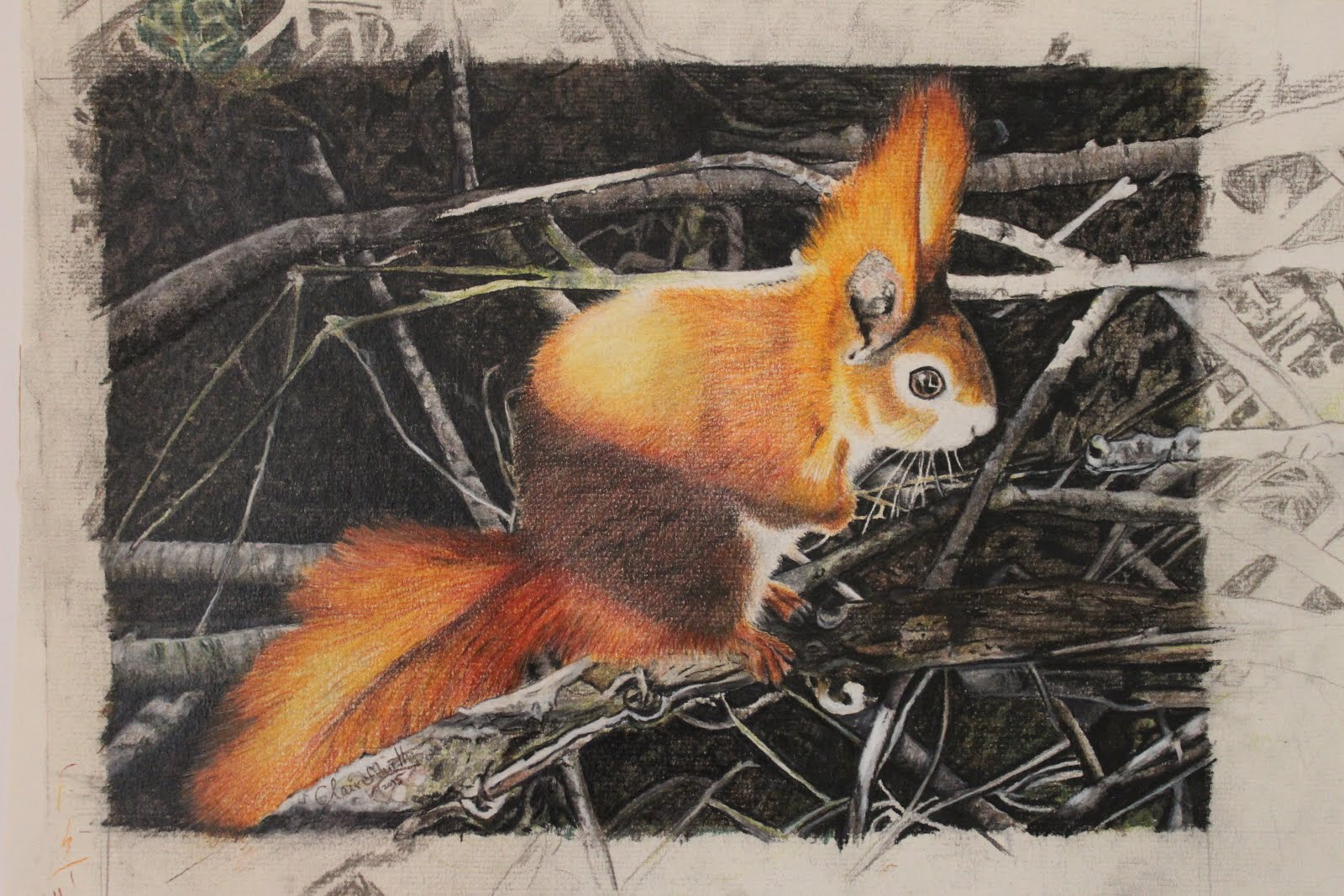 Traditional Wildlife Art