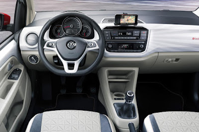 Volkswagen Up! stearing wheel Hd Pictures