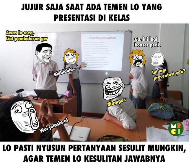12 Meme 'Teman Sekolah' Ini Bikin Ketawa Ngakak