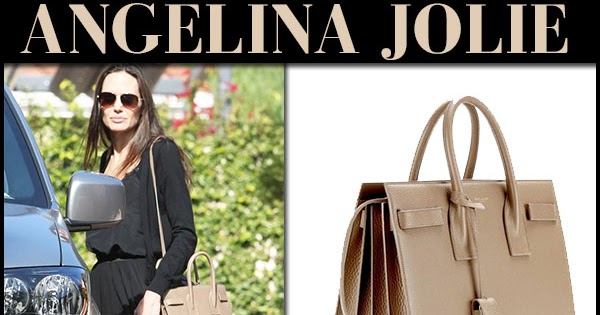 ed16d2c168 Angelina Jolie with beige later bag and beige scalloped ballet flats in Los  Angeles on December 8 ~ I want her style - What celebrities wore and where  to ...