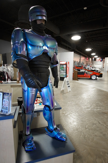Robocop at the American Police Hall Of Fame