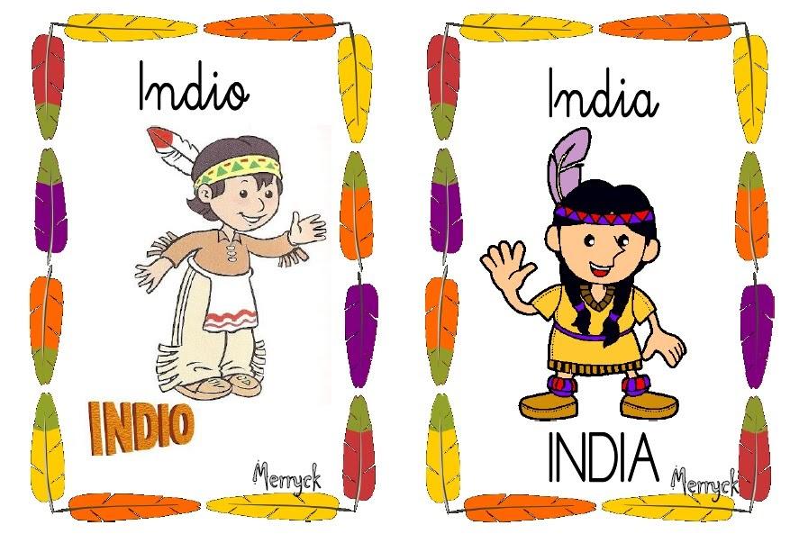 El Cajón De Infantil De Merryck: Bits De Indios