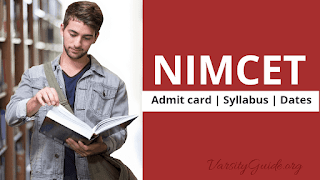 NIT MCA Common Entrance Test (NIMCET) Registration Starts, Admit card,Syllabus,dates,application form