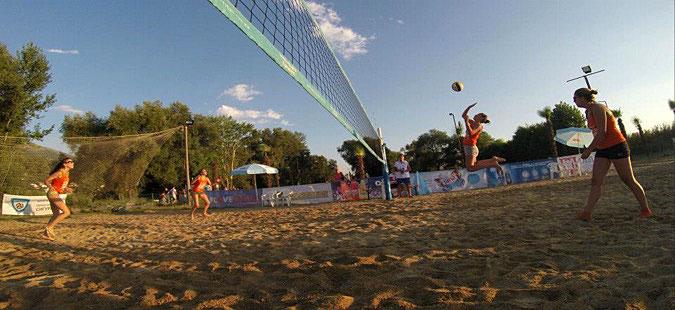 Skopje hosts Balkans U-22 beach volleyball championship