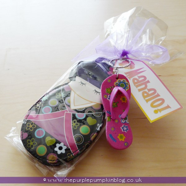 Hen Night Party Favors at The Purple Pumpkin Blog