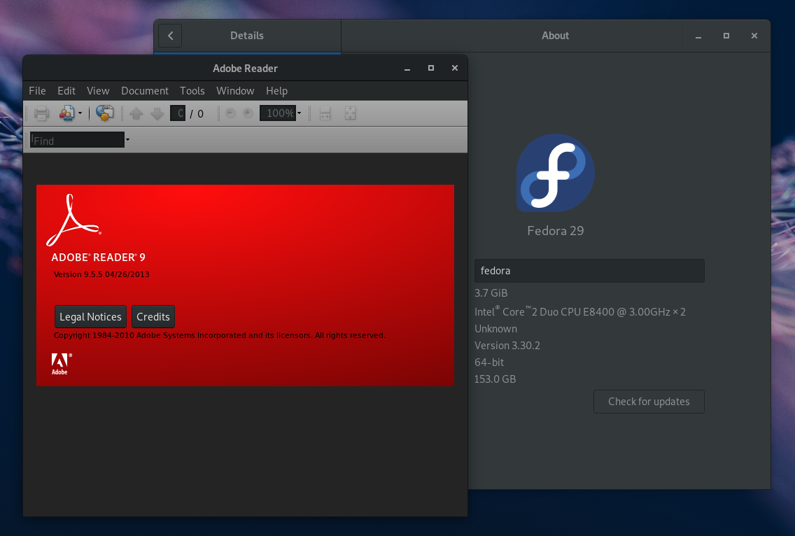 تثبيت برنامج VirtualBox 6 0 على فيدورا 30/29/28