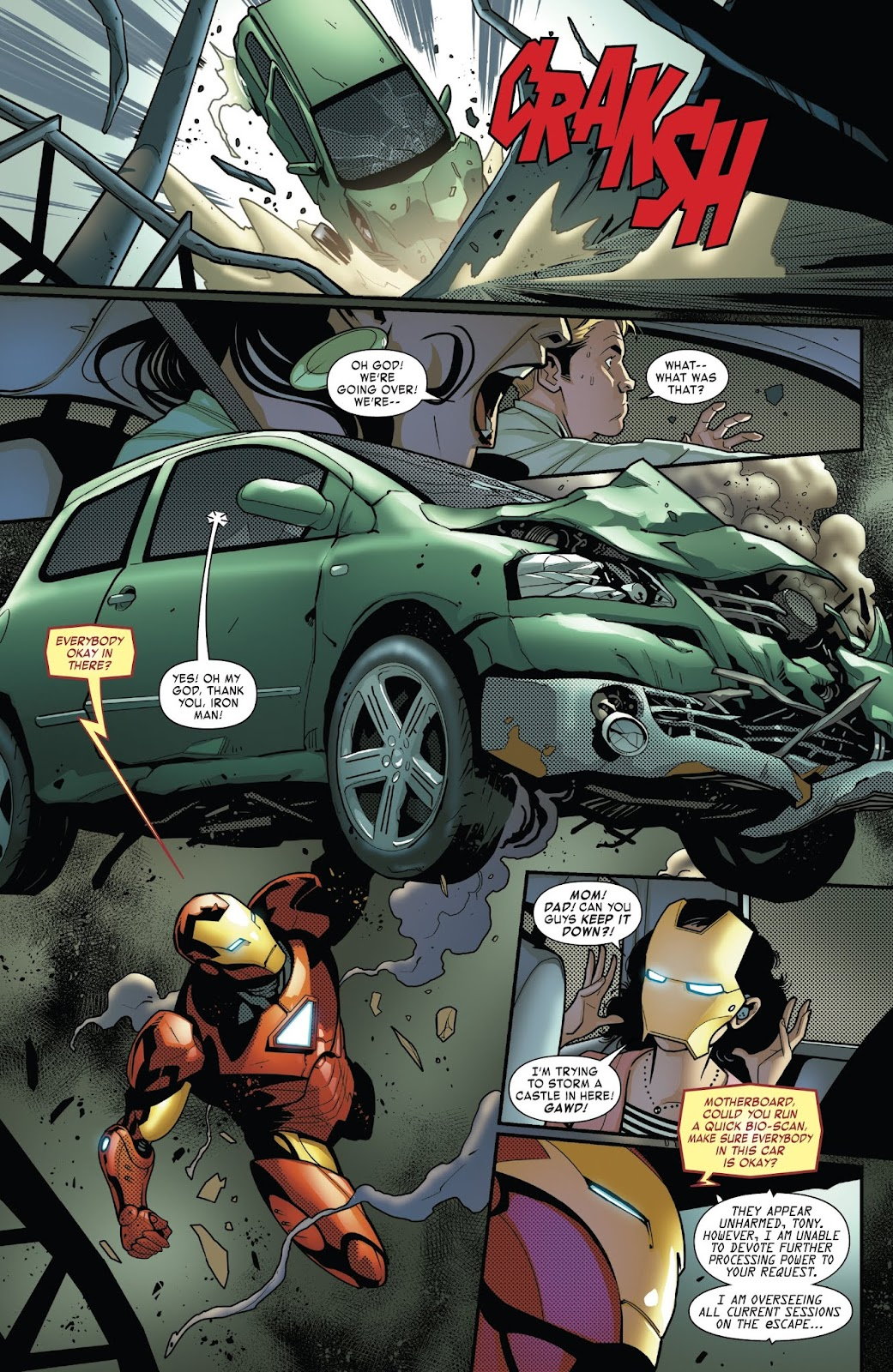 Read online Tony Stark: Iron Man comic -  Issue #6 - 7