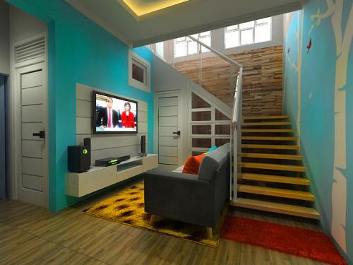 Interior Ruang Tengah By Tatarumah