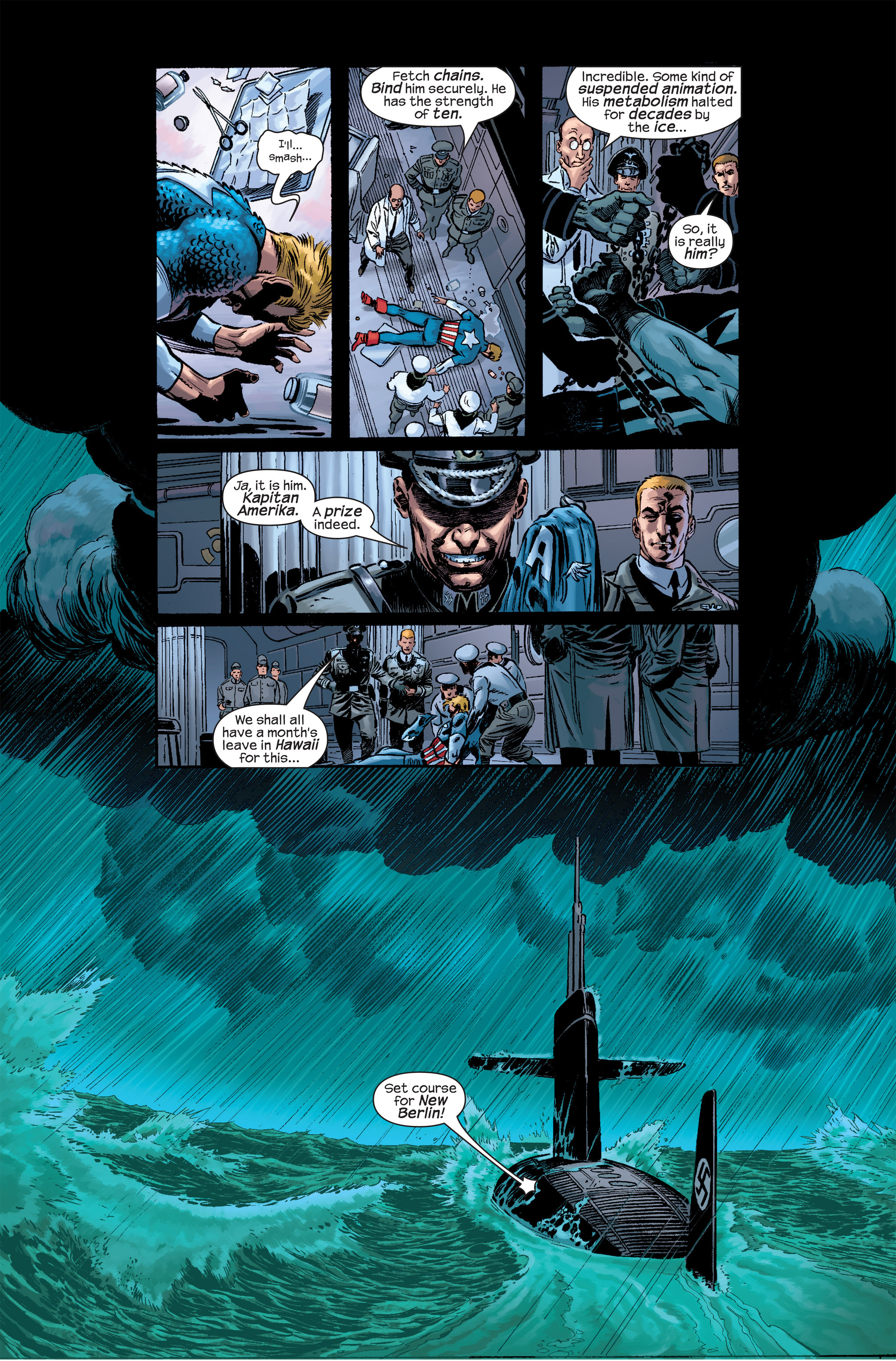 Captain America (2002) Issue #17 #18 - English 11