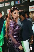 Shilpi Sharma looks Glamorous in Transparent Purple Glittering Gown at IIFA Utsavam Awards 015.JPG