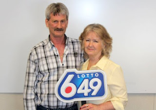 Couple win lottery three times
